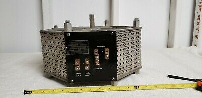 Powerstat Variable Autotransformer Superior Electric 1256cl