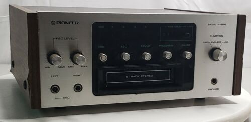 Pioneer H-R99 8 Track Tape Deck Player Recorder