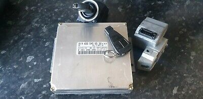 MERCEDES W208 CLK 320  V6 ECU  IGNITION KEY SET A0265456532