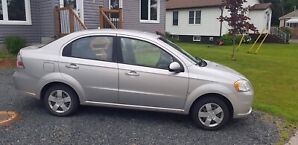 2009 Chevy Aveo certified