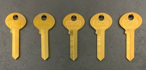 Lot of 5 CO19 X1000F 6CO10 Key Blanks for Corbin Cabinet Lock CCL
