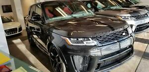 2019 Land Rover Range Rover Sport SVR CUIR, ROUES 22, NEUF!! *$1