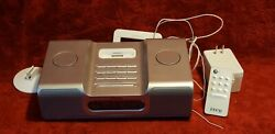 iHome Clock Radio AM FM iPod Speaker Docking Station Ih8 with power cord/remote