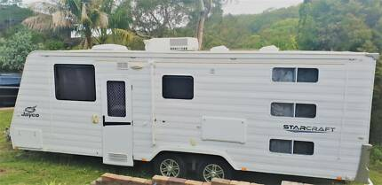 Dec 2012 Jayco Starcraft 22.68.1 Triple bunk caravan Kirrawee Sutherland Area Preview