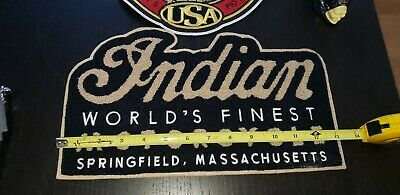 Indian motorcycle patch CHENILLE