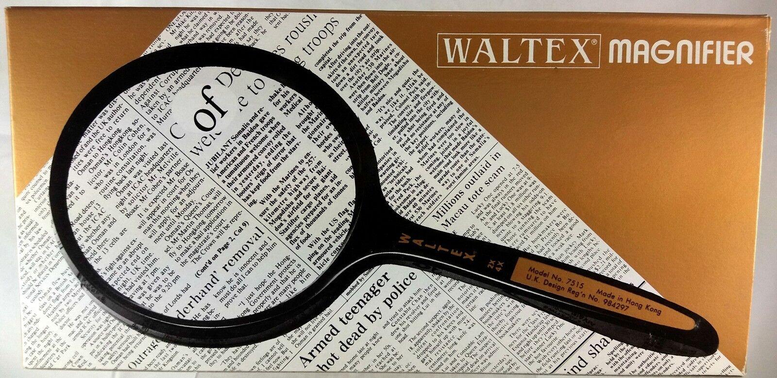 Waltex, Rond Vergrootglas Dubbele Focus, vergroting van 2x en 4x (VG10)