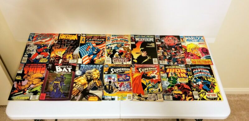 Lot of 145 Comic Books - Random Selection - Free Shipping