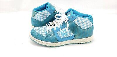 Womens DC Manteca 2 Mid SE Skate Shoes 7 Turquoise/White Sneakers  Womens Manteca 2 Shoe