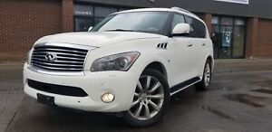 2014 INFINITI QX80 NAVIGATION W/BACK UP CAMERA DVD 8 PASSENGERS