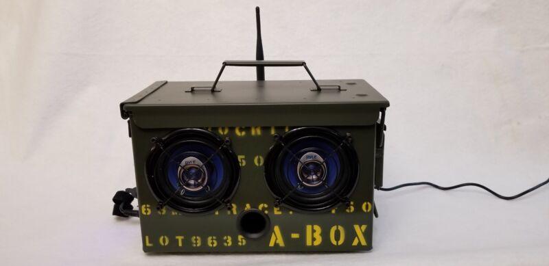 Ammo Can Bluetooth/Radio Speaker .50CAL A-BOX
