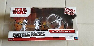 Star Wars Legacy Collection Geonosis Assault Battle Pack Gunship Bubble Turret