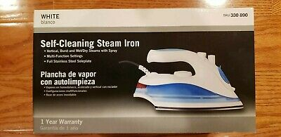 *NEW* Self-Cleaning Stream Iron