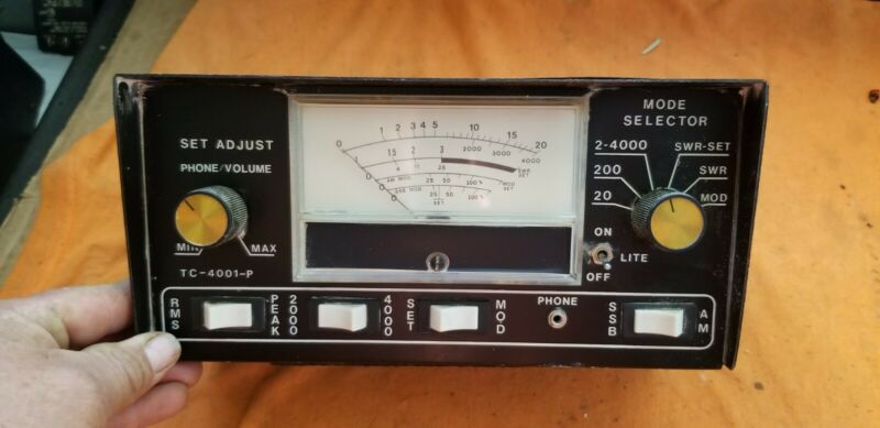 DOSY METER SWR WATT POWER TC 400I-P