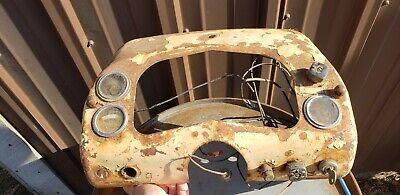 Case 801 B Tractor Dash Panel Antique Vintage Old Instrument Panel Gauges