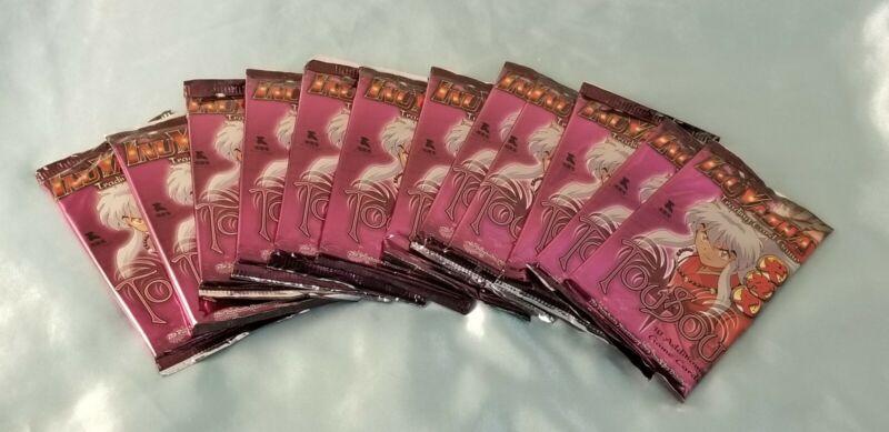 Inuyasha Tousou TCG/CCG Bundle of 12 Sealed Booster Packs *New/Sealed*