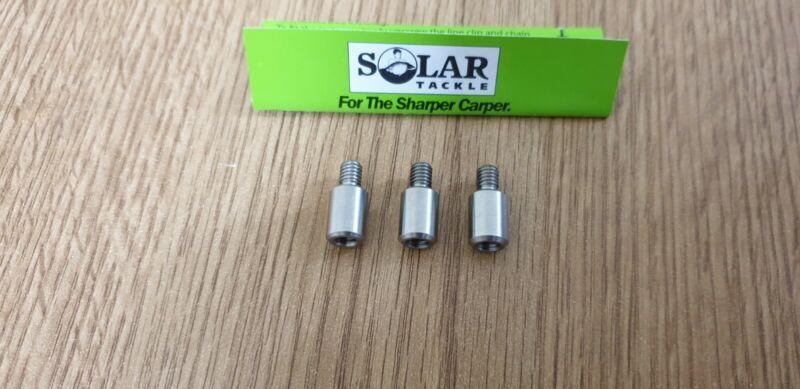 3 Solar Tackle 5 gram indicator bobbin head add on weights fit flouro slim etc.