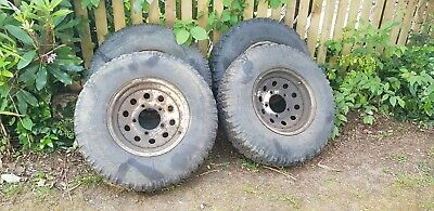 Land rover wheels and tyres used