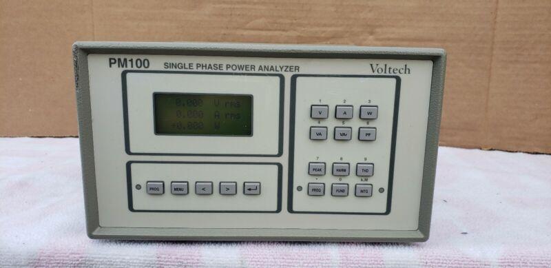 Voltech PM100 Single Phase Power Analyzer