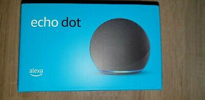Amazon Echo Dot (4. Gen) Smart Lautsprecher - Anthrazit - Neu-OVP!