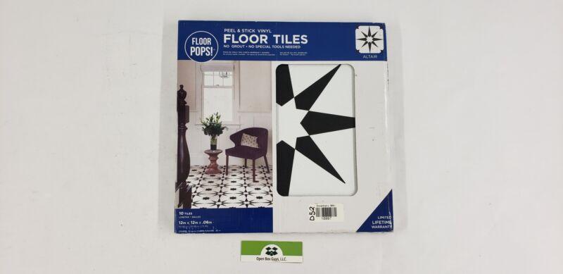 FloorPops FP2948 Altair Peel Stick Floor Tile