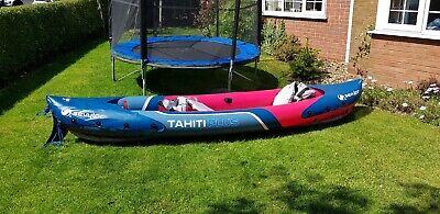 Sevylor Tahiti Plus Inflatable Kayak 2+1 Person 3 Man Tandem Canoe PVC River