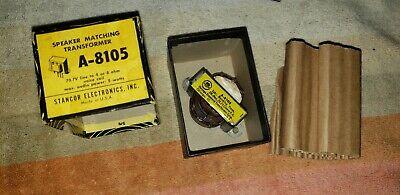 Vintage Nos Stancor A-8105 Speaker Matching Transformer
