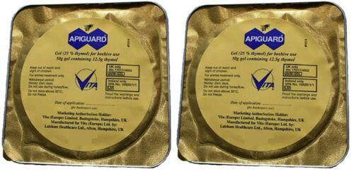 2X Apiguard Varroa Mite Treatment  (Recommended treatment Two per hive)