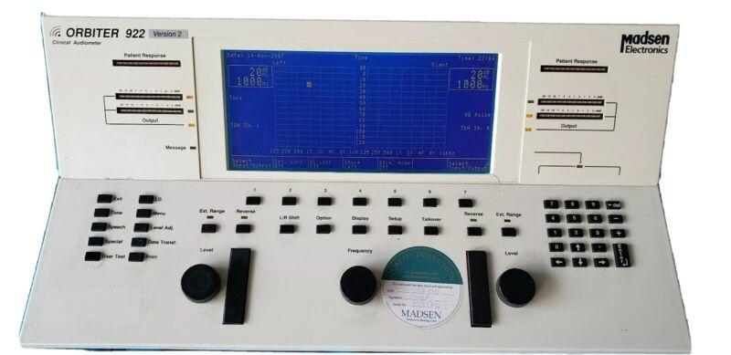 Madsen Orbiter 922 Clinical Audiometer Version 2-Very Nice!!!!!