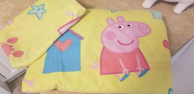 Peppa Pig Pig Twin Duvet Pillowcase Reversible Children Bed Linen Bedding