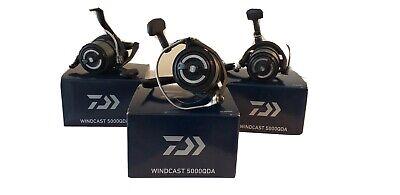 3 x Daiwa Windcast 5000QDA Big Pit Fishing Reel - Perfect Condition Still In Box