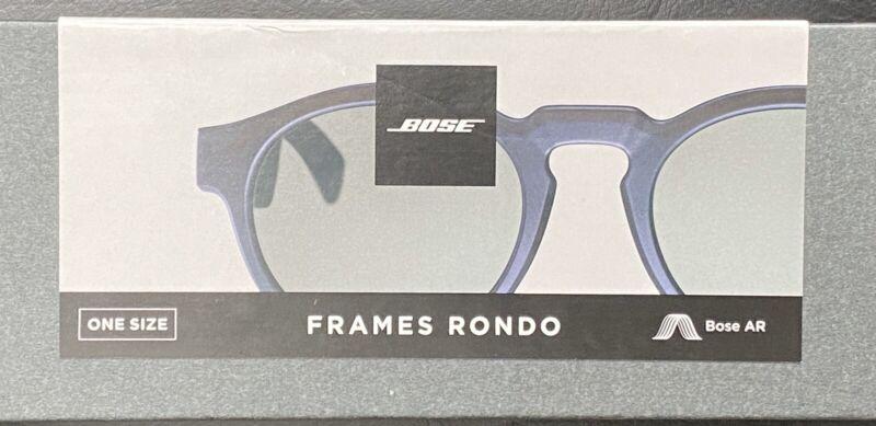 Bose Frames Rondo Audio Sunglasses Bluetooth Connectivity Black 833417-0100