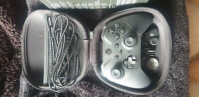 Used Official Microsoft Xbox One Elite Wireless Controller Series 2 - Black