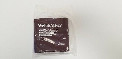 Welch Allyn Blood Pressure Cuff Reusable 1-tube Large Adult Reuse-12-1hp New