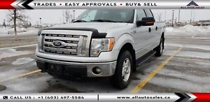 2012 Ford F150 XLT 4X4 $100 DOWN EVERYONE APPROVED OR $130 BW*