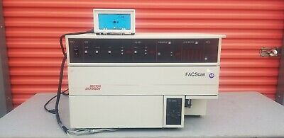 Becton Dickinson Facscan Automated Flow Cytometer Cell Analyzer