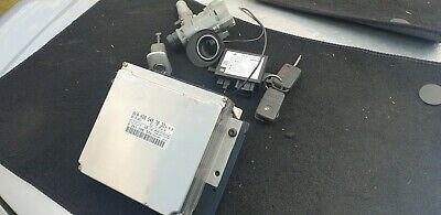 MERCEDES SLK 230 1996 - 2004 ECU A0285457832 IGNITION LOCK IMMOBILISER KEY SET