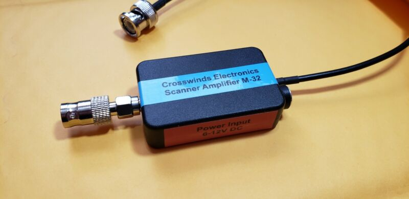 Analog & Digital Scanner Signal Booster Pre-Amp Crosswinds MP-3500 - SMA or BNC