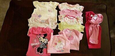 11 Piece Girl Infant 6-9 Month Assorted spring/summer Clothes Bundle
