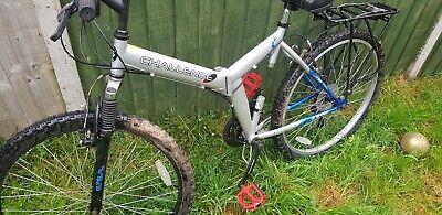 Used folding mountain bike