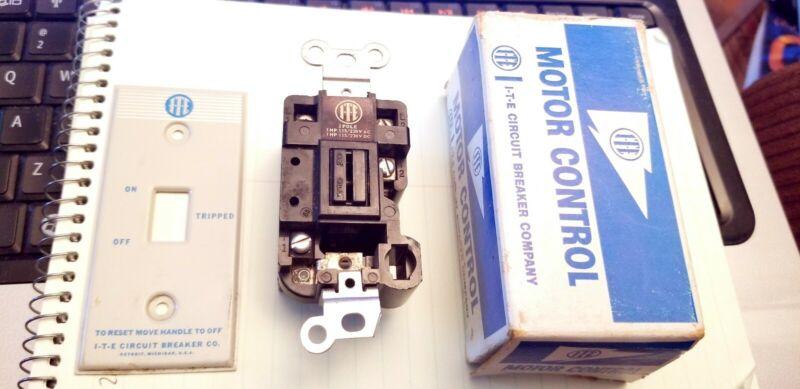 ITE C10K2 Motor Control 2 Pole Manual Starter 1HP 115/230VAC - USA ~ NIB NEW