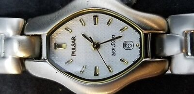 Pulsar by Seiko Women's Watch NOS Stainless Steel Vintage