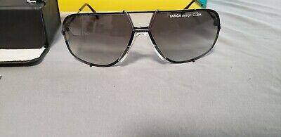 CAZAL DITA 902 gold gray rectangular aviator sunglasses unisex targa (Targa Design Sunglasses)