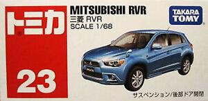 TOMY-TOMICA-No-23-MITSUBISHI-RVR-Scale-1-68