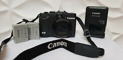 Canon PowerShot G16 12.1MP Digital Camera