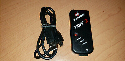 Authentic Microchip Pickit 2 Usb Development Programmer And Debugger Wusb Cable