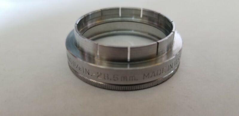 Kodak Series V 1 1/8 In. -  28.5mm Adapter Ring