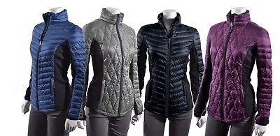 32 Degrees Heat Ultra Light Down Women Puffer Softshell Slimming Packable Jacket