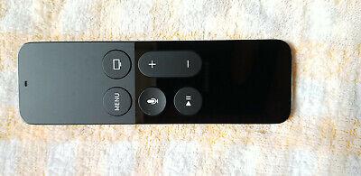 Genuine Apple Siri Remote Control for Apple TV (4th Gen) - A1513 - Black