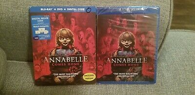 Annabelle Comes Home (Blu-ray, DVD, Digital) New Same day Shipping read