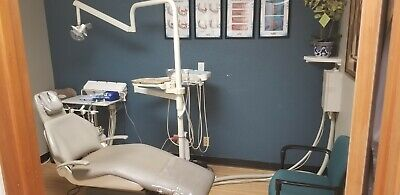 Pelton Crane 5090ls Dental Chair With Beaverstate Light Delivery Unit And...